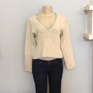 🚨 Short crop knit sweater!